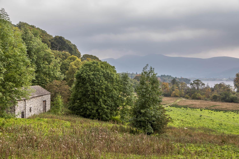 Barn above Derwent Water