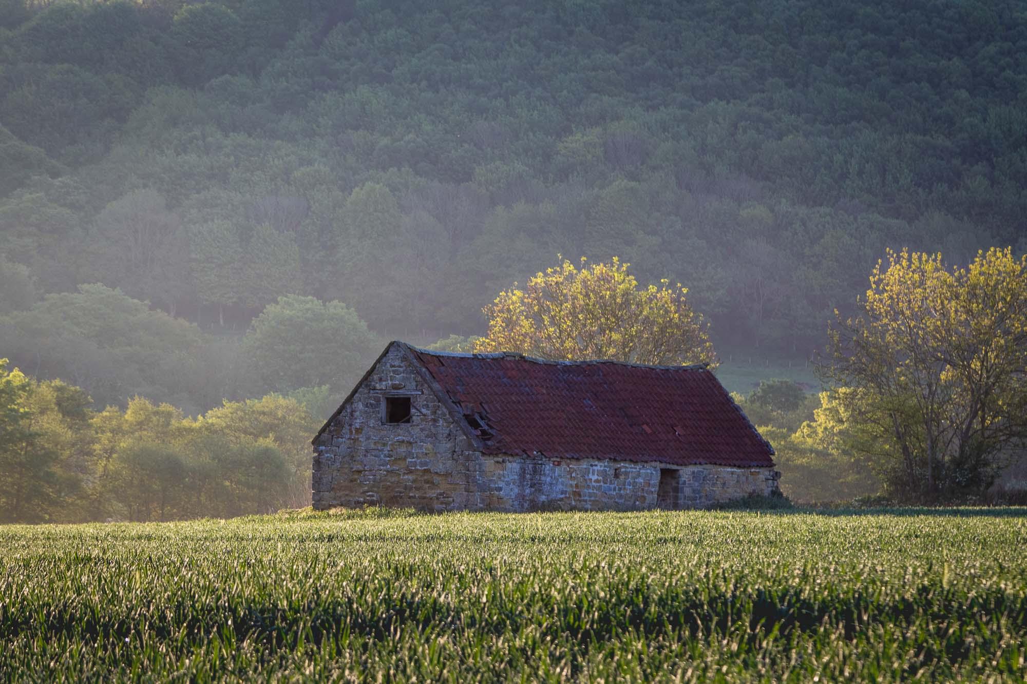 Old barn near Hackness