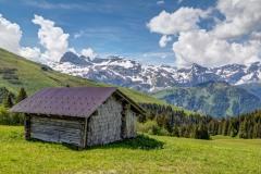 Barn near Lenk, Bernese Oberland