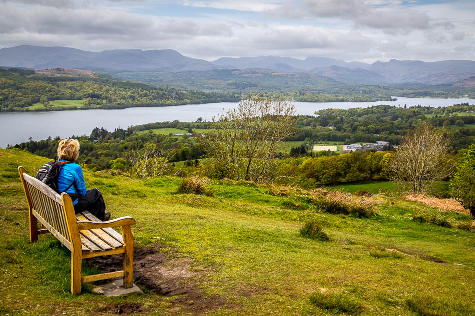 Windermere bench