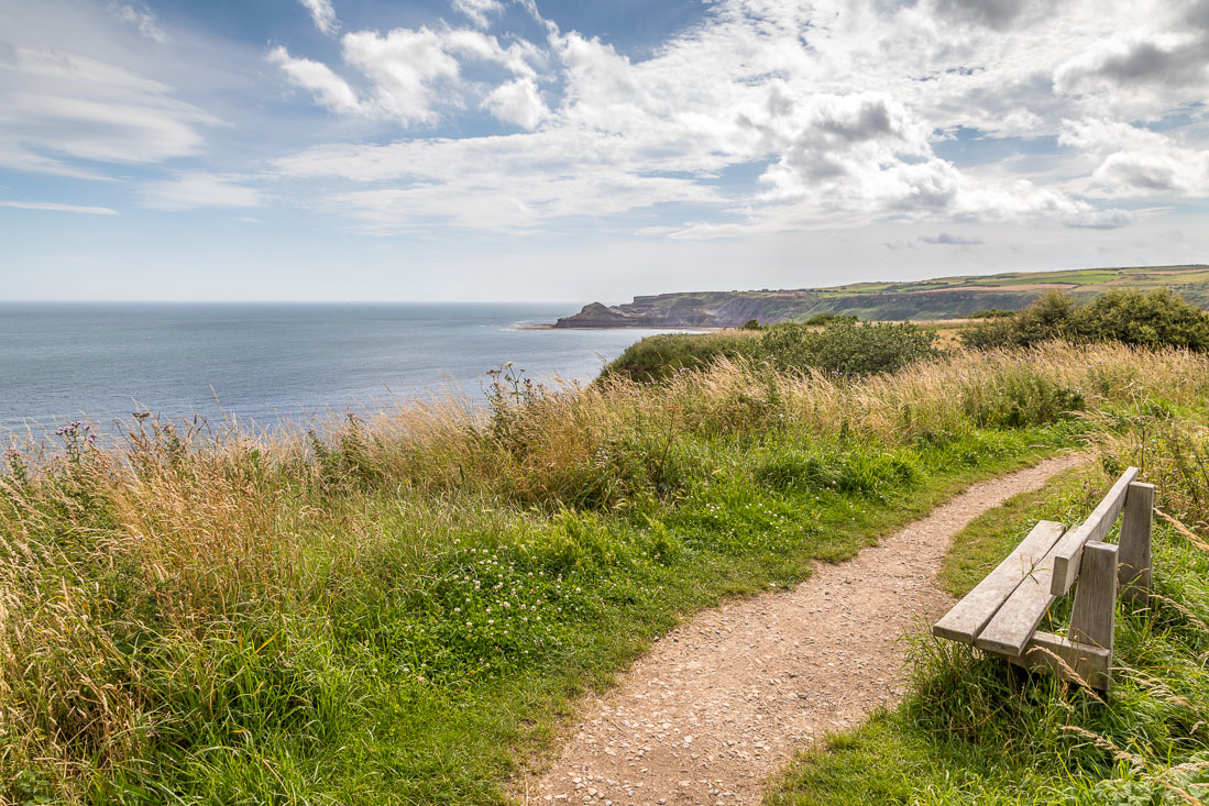 Cleveland Way  bench