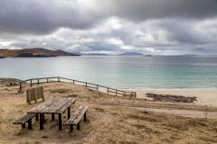 Bench on Huisinish, Isle of Harris