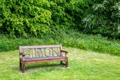 Duncombe Park bench