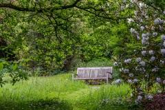 Holker Hall bench