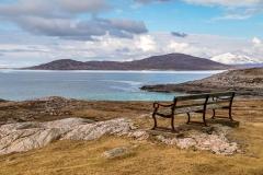 Isle of Harris bench