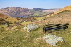 Bench overlooking Ullswater