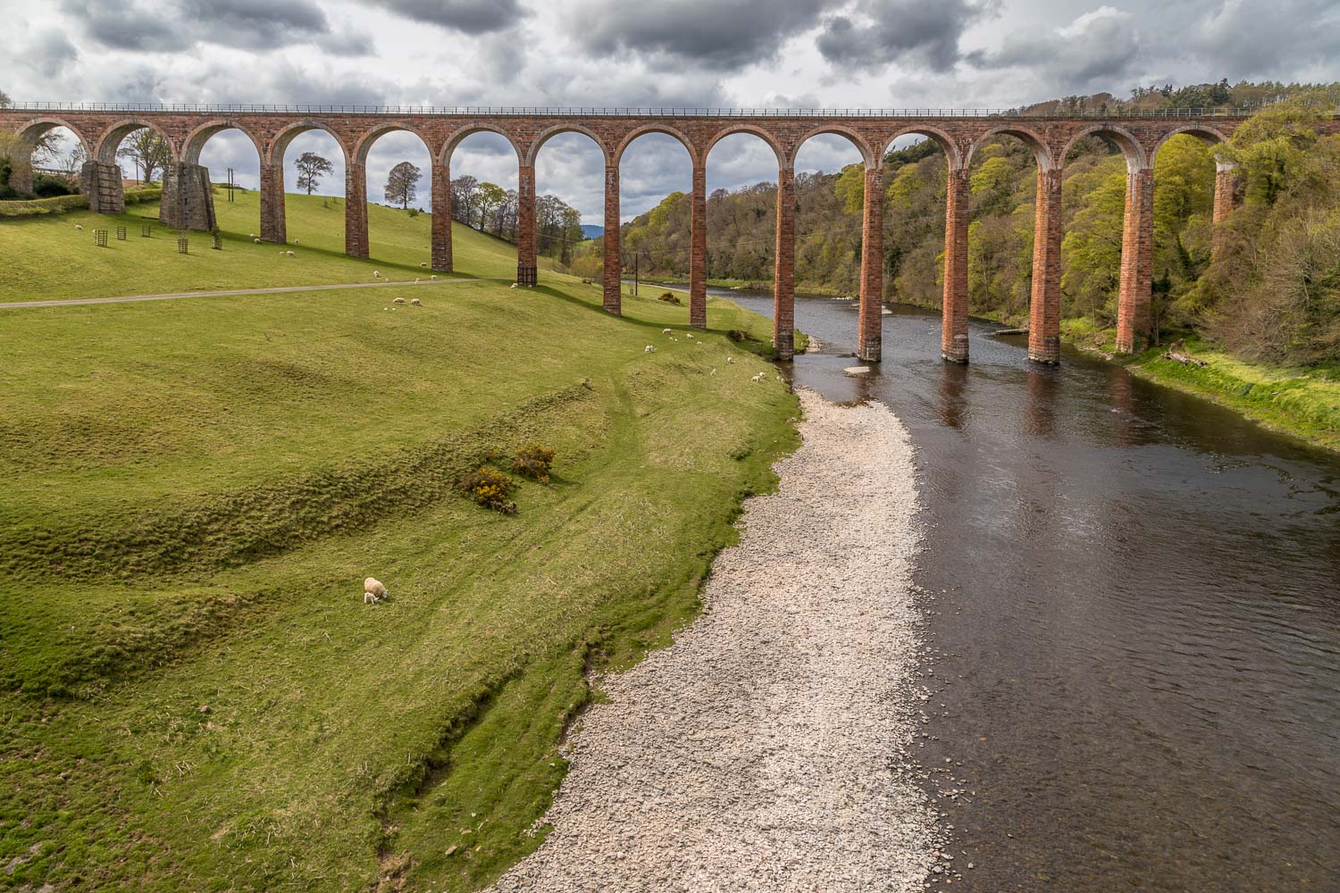 Leaderfoot Viaduct, Scottish borders