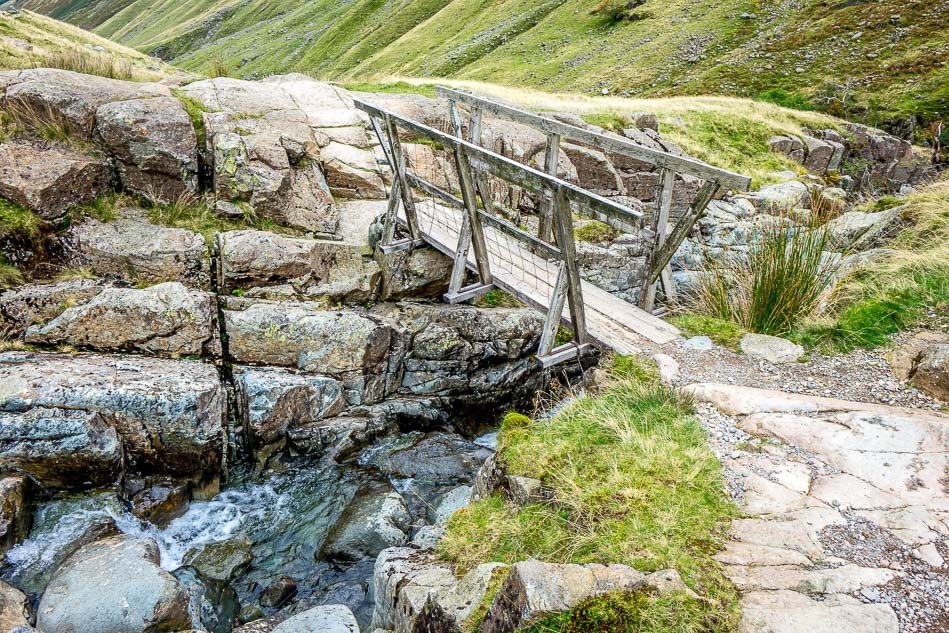 footbridge near Seathwaite