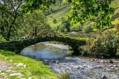 packhorse bridge over Mosedale Beck
