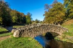 Seven Bridges Valley walk, River Skell