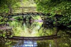 Footbridge over the River Seven