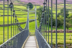 The Reeth Suspension Bridge