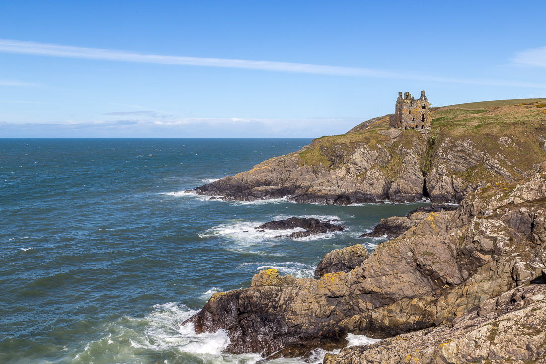 Dunskey Castle, Dumfries and Galloway