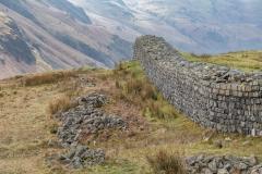 Hardknott Castle Roman Fort, Eskdale