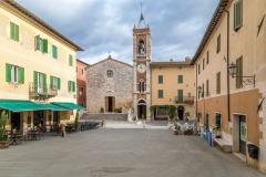 San Francesco Church, San Quirico d'Orcia