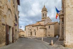 The Collegiata Church, San Quirico d'Orcia
