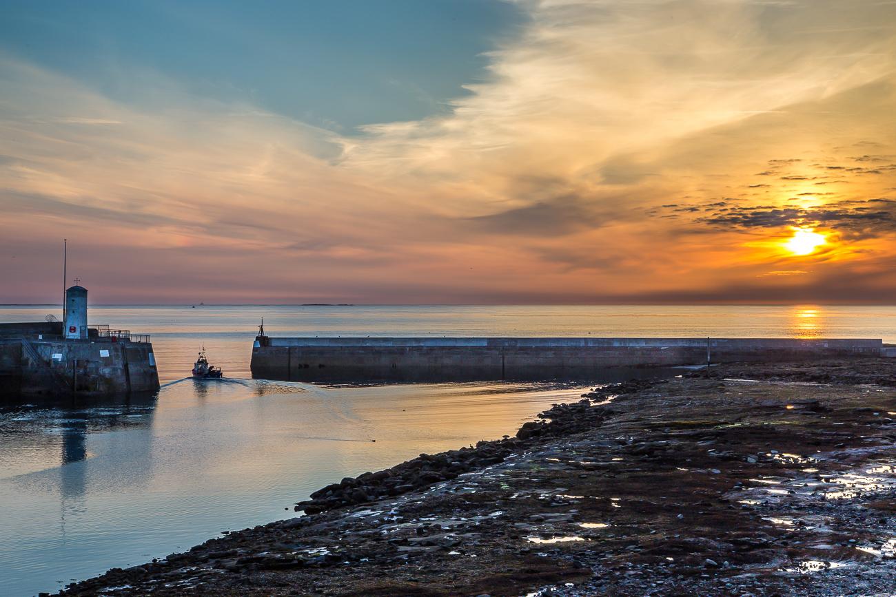 Seahouses dawn