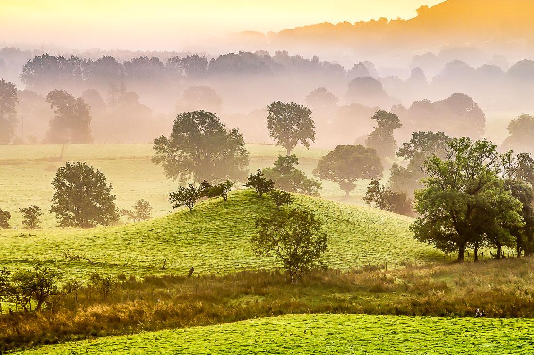 Newlands Valley dawn
