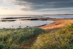 Northumberland coast dawn