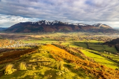 Skiddaw and Blencathra range