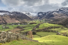 Borrowdale from Lingy Bank