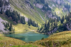 Lac d'Arvouin, Chablais Alps