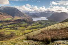 Crummock Water from Low Fell