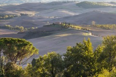 Val d'Orcia from Passeggiata Panoramico, Pienza
