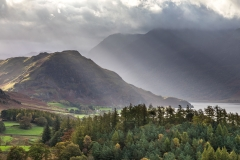 Rannerdale Knotts from Lanthwaite Hill