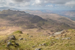 Green Crag from Harter Fell