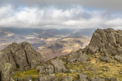 Summit of Harter Fell, Eskdale