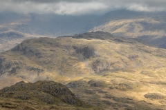 Hard Knott from Harter Fell