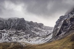 Scafell Pike crags