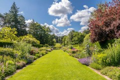 Herbaceous border, Newby Hall