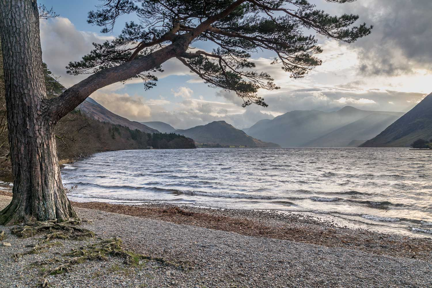 Foot of Crummock Water