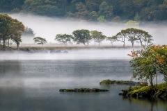 Crummock Water islands