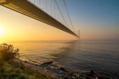 Humber Bridge at dawn