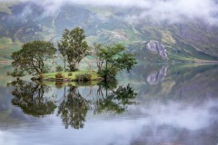 Mist, Woodhouse Island, Crummock Water