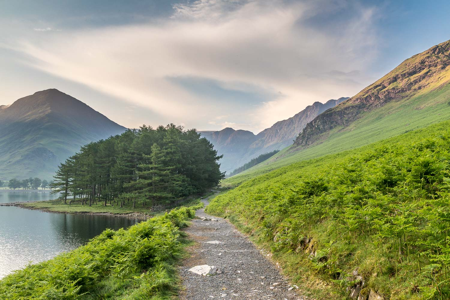Path to the head of Buttermere