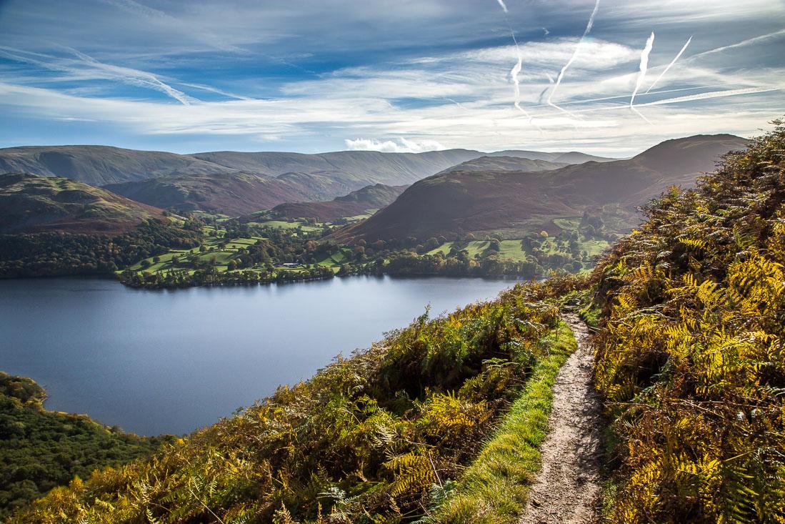 Path above Ullswater