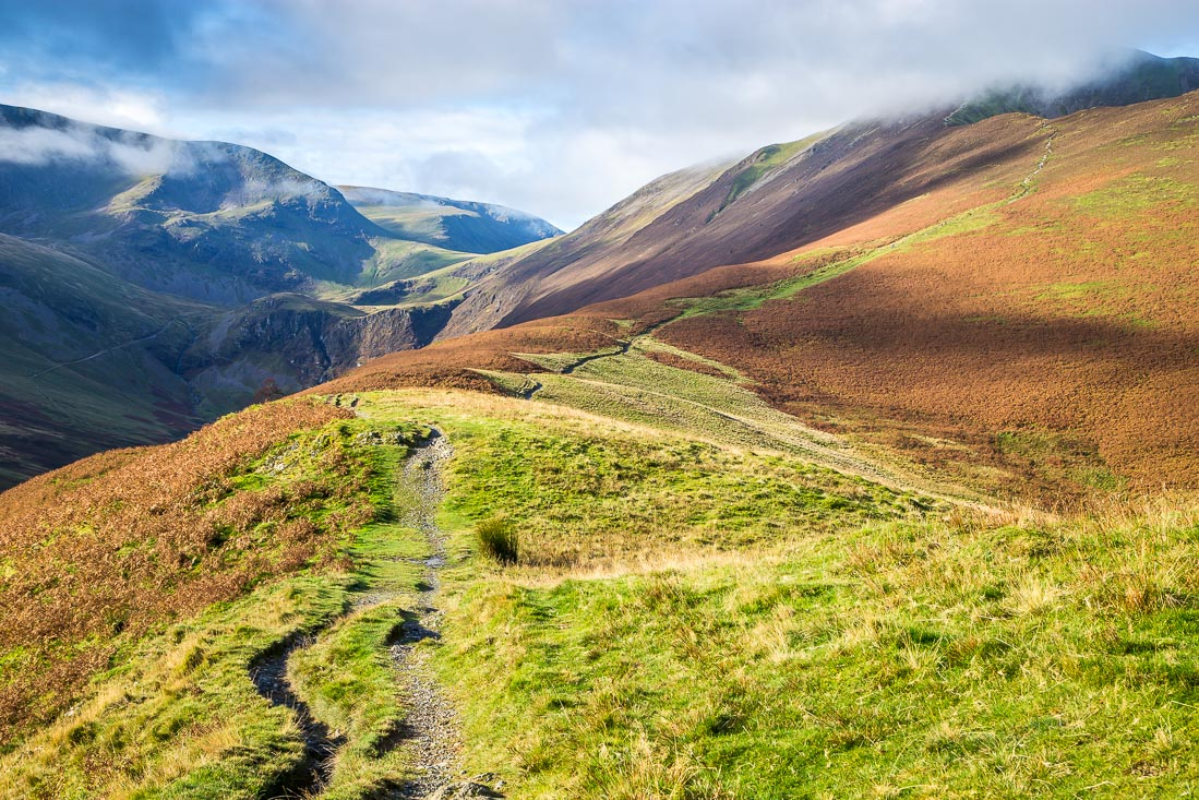 Path to Grisedale Pike