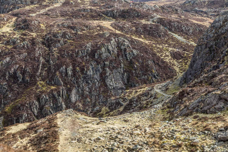 Path between Haystacks and Fleetwith Pike