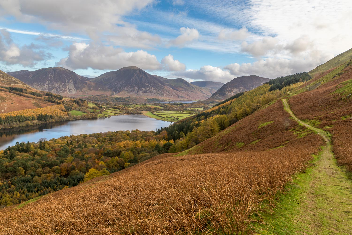 The old coffin road above Loweswater