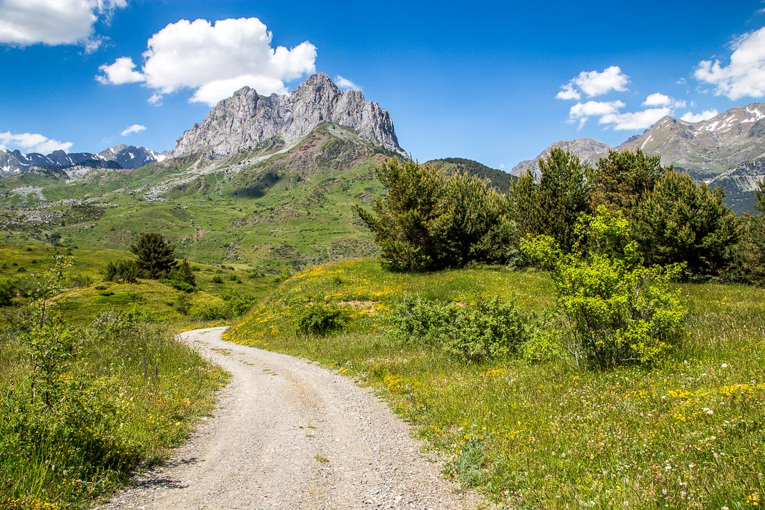 Punta del Pacino, Spanish Pyrenees