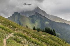 Col d'Ubine, Les Cornettes de Bise