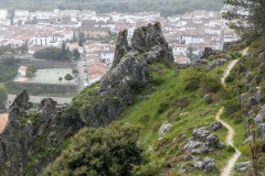 Path above Grazalema, Andalucia
