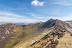 Ridge between Hopegill Head and Whiteside