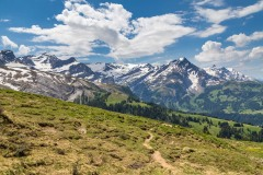Path to Lauenen, Swiss Alps