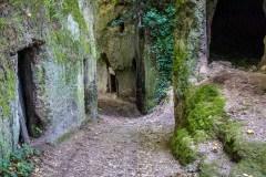 Via Cava Poggio Cani, Pitigliano