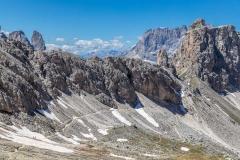 path to Rifugio Puez, Dolomites